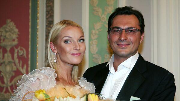 Анастасия Волочкова и Игорь Вдовин - Sputnik Беларусь