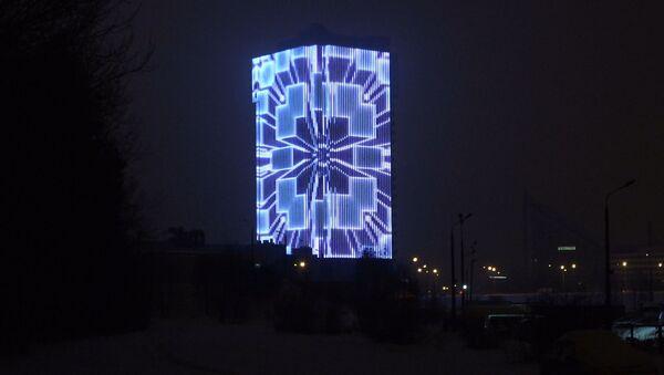 Якія відэа можна ўбачыць на медыяфасадзе ва Уруччы - Sputnik Беларусь