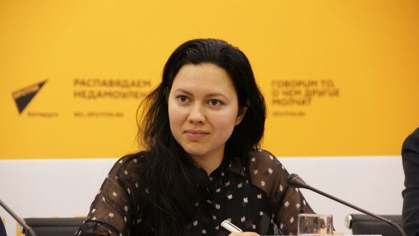 Алина Агеева сообщила, что белорусы могут претендовать и на стипендию - Sputnik Беларусь