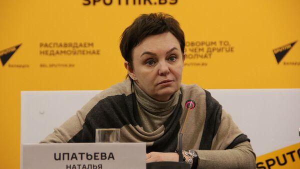 Специалист отдела образования представительства Россотрудничества в Беларуси Наталья Ипатьева  - Sputnik Беларусь