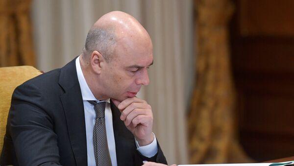 Первый заместитель председателя правительства РФ - министр финансов РФ Антон Силуанов - Sputnik Беларусь