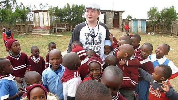 Впервые Руслан Яроцкий поехал с миссионерской поездкой в Кению в марте 2017 года - Sputnik Беларусь