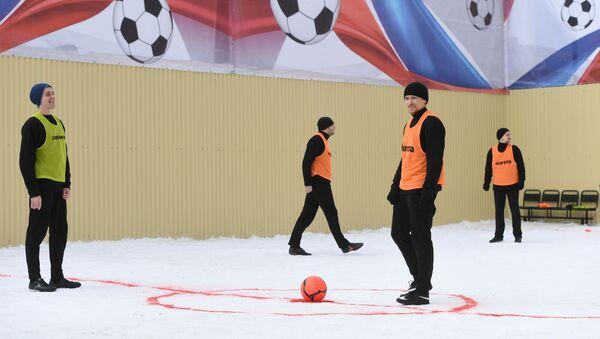Футбольный матч с участием П. Мамаева в СИЗО - Sputnik Беларусь