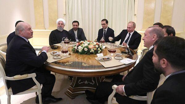Лукашенко с коллегами-президентами в Сочи - Sputnik Беларусь