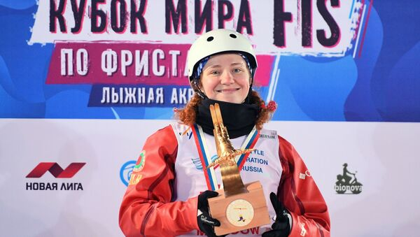 Фрыстайлістка Анастасія Раманоўская (Беларусь) - Sputnik Беларусь