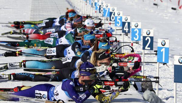 Этап Кубка мира по биатлону, который проходит в Солт-Лейк-Сити (штат Юта, США) - Sputnik Беларусь