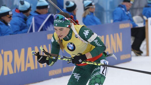 Итальянская биатлонистка Доротея Вирер  - Sputnik Беларусь