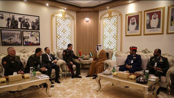 Равков в Абу-Даби провел переговоры с министром обороны ОАЭ - Sputnik Беларусь