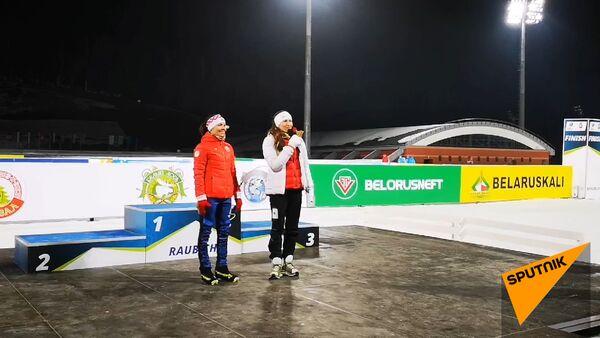 Відэафакт: Домрачава і Скардзіна развіталіся з вялікім спортам - Sputnik Беларусь