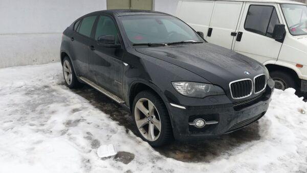 Угнанный BMW X6 - Sputnik Беларусь