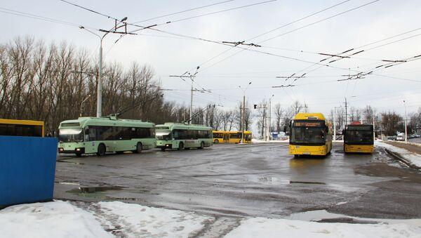 Троллейбусы, архивное фото - Sputnik Беларусь