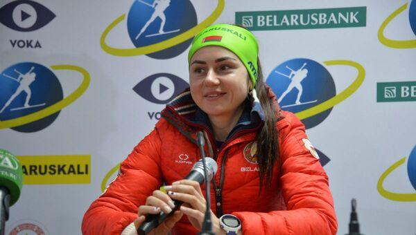 Біятланістка Ірына Крыўко - Sputnik Беларусь