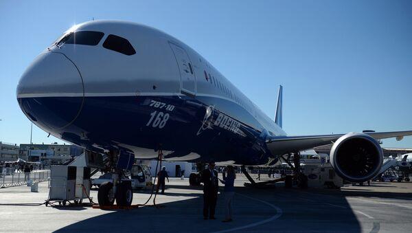 Пассажирский самолет Boeing 787 - Sputnik Беларусь