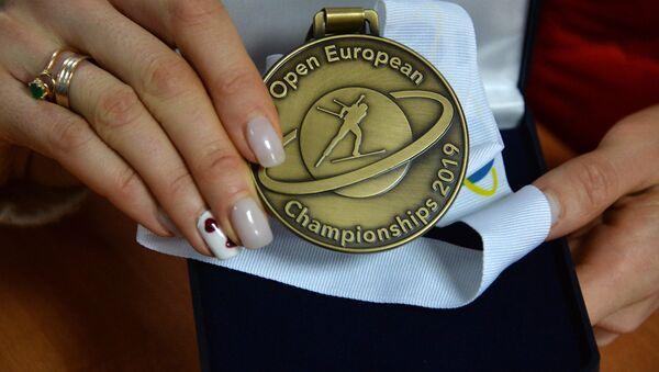 Бронзовая медаль Ирины Кривко - Sputnik Беларусь