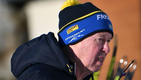 Главный тренер сборной Швеции по биатлону Вольфганг Пихлер - Sputnik Беларусь