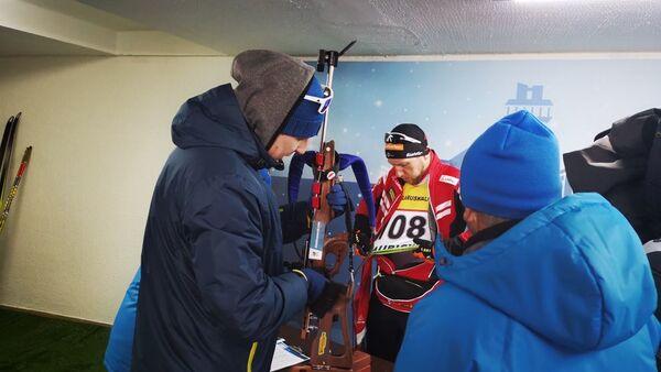 Спортсмены готовятся к старту - Sputnik Беларусь