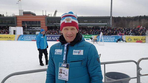 Президент Союза биатлонистов России Владимир Драчев - Sputnik Беларусь