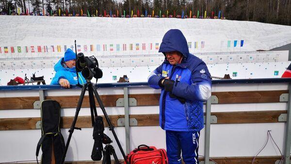 Старший тренер женской сборной Василий Лещенко - Sputnik Беларусь