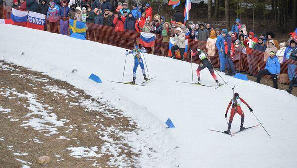 Женская спринтерская гонка - Sputnik Беларусь
