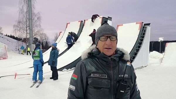 Главный тренер белорусских фрисайлистов Николай Козеко - Sputnik Беларусь