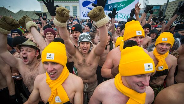 Забег настоящих мужчин - Sputnik Беларусь