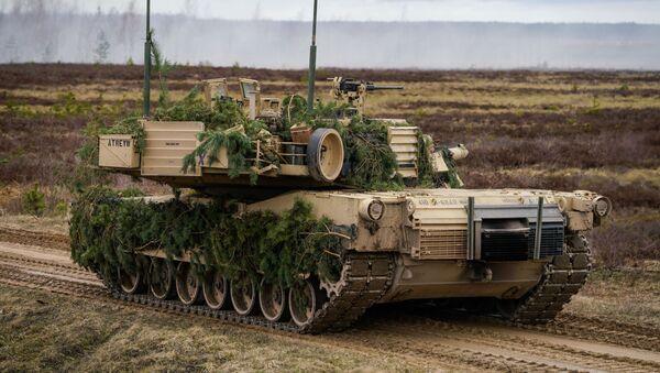 Танк M1 Abrams - Sputnik Беларусь