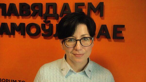 Политический обозреватель НТВ-Молдова Елена Левицкая-Пахомова  - Sputnik Беларусь