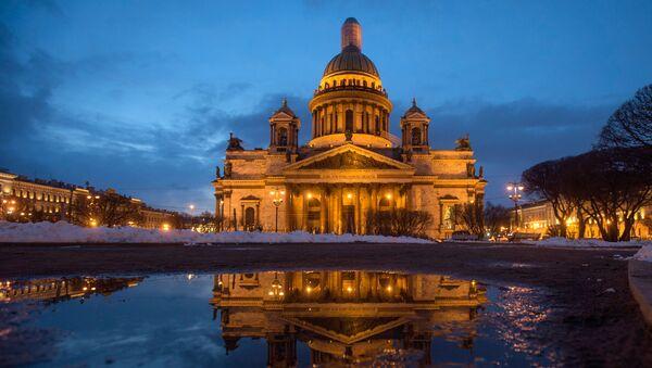 Ісаакіеўскі сабор у Санкт-Пецярбургу - Sputnik Беларусь