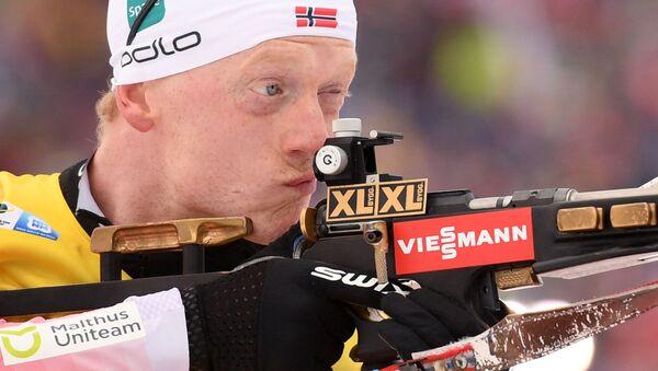 Норвежский биатлонист Йоханнес Бё - Sputnik Беларусь