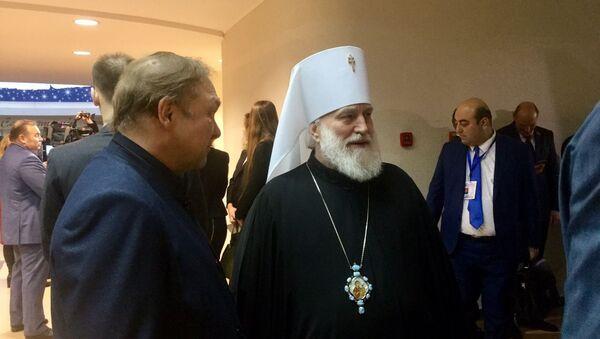 Митрополит Минский и Заславский, Патриарший экзарх всея Беларуси Павел приехал на Большой разговор с президентом - Sputnik Беларусь