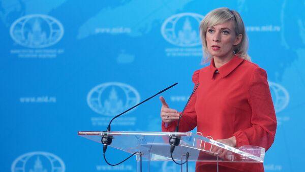 Официальный представитель МИД России Мария Захарова - Sputnik Беларусь