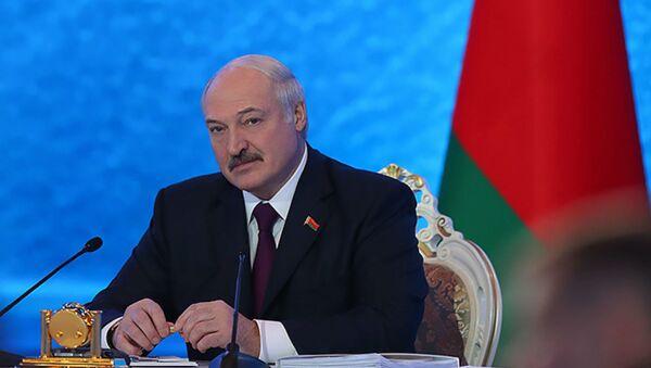 Президент Беларуси Александр Лукашенко в Большом разговоре с Президентом  - Sputnik Беларусь