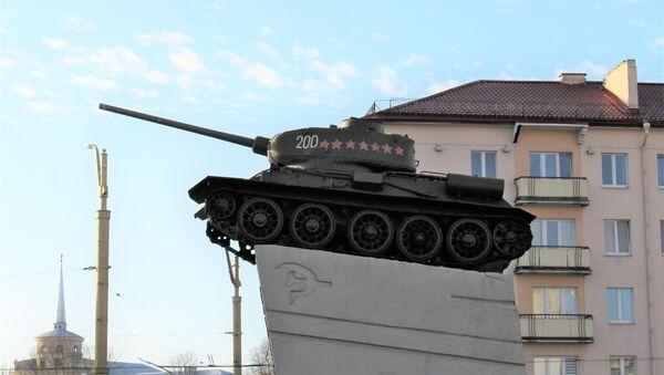 Памятник в Гродно - Sputnik Беларусь