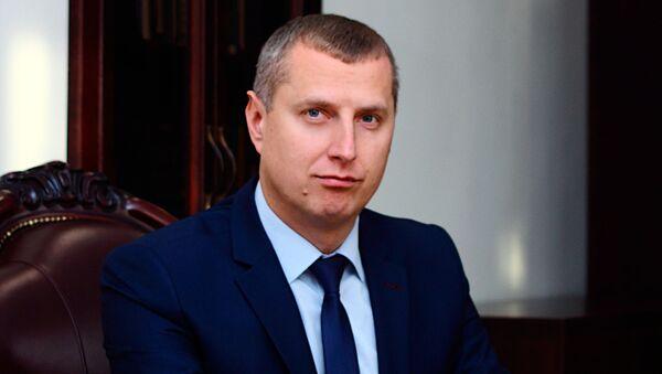 Міністр эканомікі Дзмітрый Крутой - Sputnik Беларусь