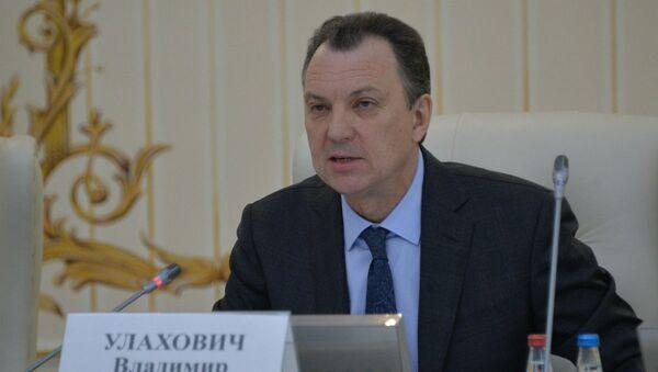 Председатель Белорусской Торгово-промышленной палаты Владимир Улахович  - Sputnik Беларусь