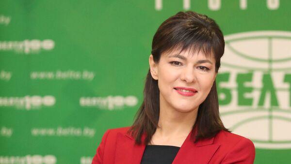 Гендиректор информагентства БелТА Ирина Акулович  - Sputnik Беларусь
