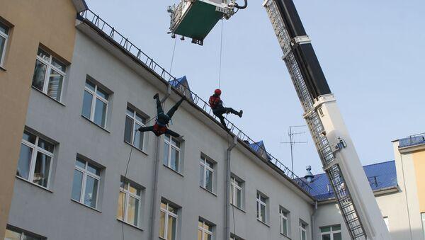 Оригинальный способ поздравления от витебских спасателей - Sputnik Беларусь