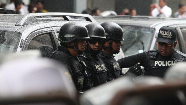 Полиция Эквадора, архивное фото - Sputnik Беларусь