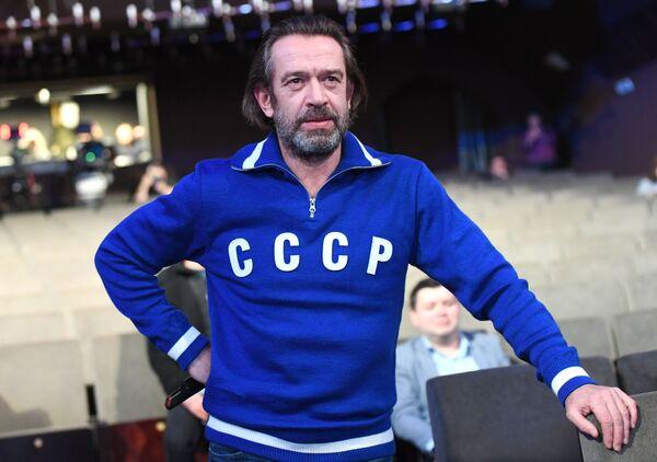 Художественный руководитель Московского театра-студии О. Табакова Владимир Машков  - Sputnik Беларусь