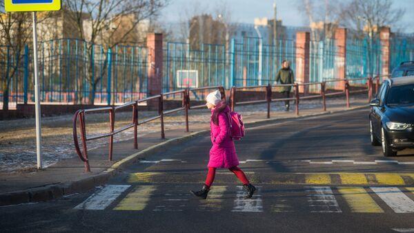ДАІ ўзмоцніць кантроль над кіроўцамі і пешаходамі каля школ - Sputnik Беларусь