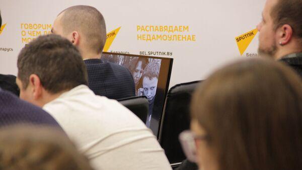 Падчас майстар-класа Уладзіміра Вяткіна на SputnikPro - Sputnik Беларусь