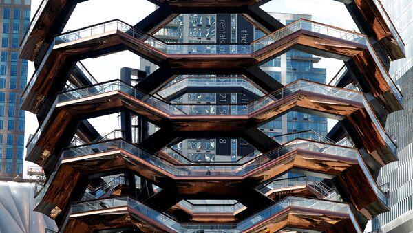 Скульптура-лестница Vessel в Нью-Йорке - Sputnik Беларусь