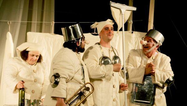 Спектакль Дванаццатая ноч - Sputnik Беларусь