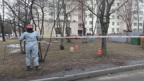 В Минске спасатели обнаружили и изъяли радиоактивные веществ - Sputnik Беларусь