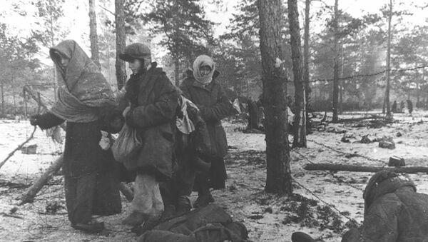 Больш за тыдзень людзі не вытрымлівалі - гінулі: гісторыя лагера смерці Азарычы - Sputnik Беларусь