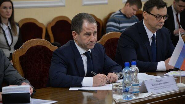 Чрезвычайный и Полномочный посол РФ Михаил Бабич - Sputnik Беларусь