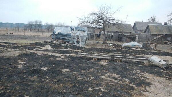 Пенсионерка тушила сухую траву и погибла в Речице - Sputnik Беларусь