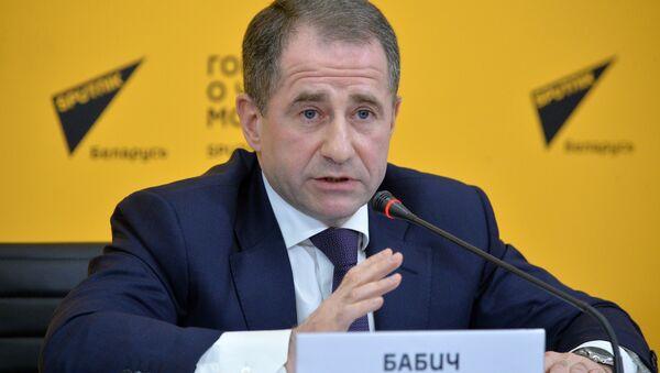 Пресс-конференция посла России Михаила Бабича на Sputnik - Sputnik Беларусь