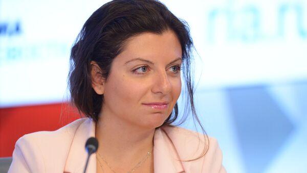 Главный редактор Международного информационного агентства Россия сегодня Маргарита Симоньян  - Sputnik Беларусь