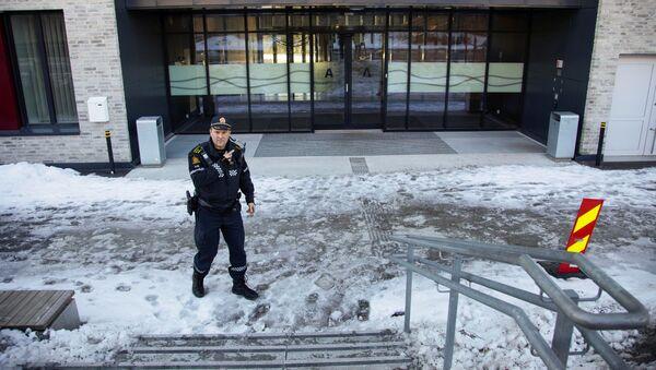 Школа в Осло, где ученик напал с ножом на преподавателя  - Sputnik Беларусь
